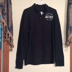 Aeropostale L Men's Navy Shirt